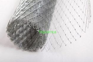 Сетка просечно-вытяжная 24х50 1 х 10 м 0,6 черная