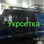 защита окон автомобиля металлической сеткой