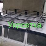 Багажник для нивы из рифленой сетки