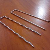 Шпилька металлическая, скобы для крепления